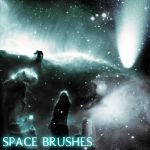 S.P.A.C.E. Photoshop Brushes by JaneDoeStock