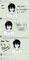 Ask Jeff the killer answered 4 by Sohiee