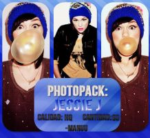 Photopack 001. Jessie J by Manuuselena