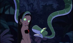 Slave Mari and Kaa: You Cannot Look Away by hypnotica2002