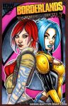 Borderlands Sirens tag sketch cover by gb2k