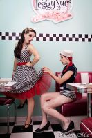 Pin up dinner II by SirK13