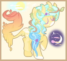 Balance (Earth, in its pony form) -- Ref by IExoholicI