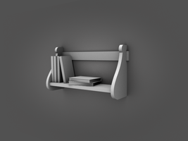Small Bookshelf by LDS-Jedi