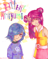 Hi ! Hi ! Puffy AmiYumi by AlisonOT