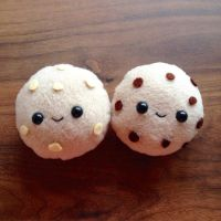Cookie plushies by xmy-craftsx