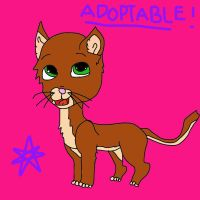 Adoptable cat 3 by mermaidgirl013
