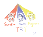 Team Try Fighters Quick Doodle by ComIsybell
