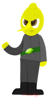 Lemongrab by MochiFries