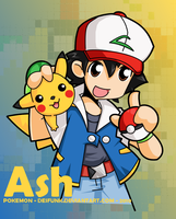 Pokemon - Ash by desfunk