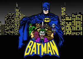 Batman and the Rogues by Imstillakid-Designs