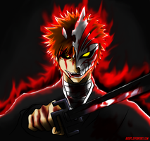 Reveille instinct - Hollow Ichigo by KiRaPL