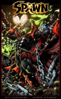 SPAWN Contest Colored by marvelmania