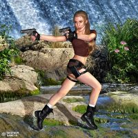 Codename Saricroft - jungle action by MagicOfSnow