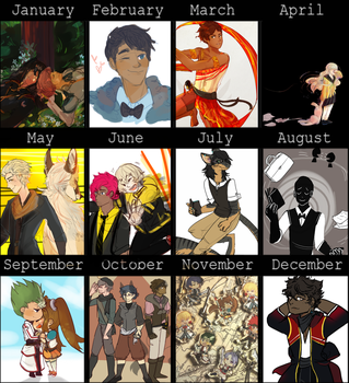 2016 ART SUMMARY by Jahzz