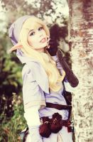 The Legend of Zelda- Female Violet Link - Pure. by TineMarieRiis