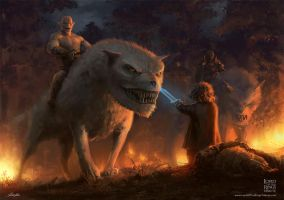 Out Of The Frying-Pan Into The Fire by yoshiyaki