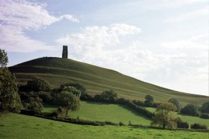 Glastonbury Tor by Moose-Art