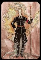 Heydrich tarot: Ace of wands by hello-heydi