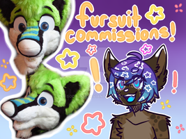 fursuit commissions! (prices lowered) by Sody-Pop