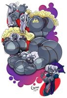 Vhaidra Pooltoy Sequence by gnome-oo