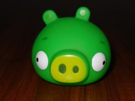 Bad Piggy Action Game figure by Gallade007