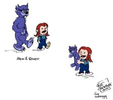 X-Men+Calvin and Hobbes fusion by ratcreature