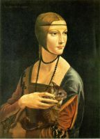 Lady with Chinchilla by sillver-lady