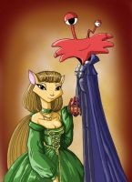 Marquis Wilt and Lady Sarah by MoostarGazer