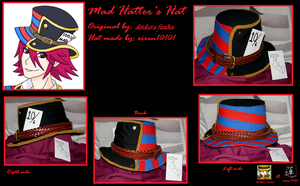 mad hatter's hat by siren10101