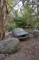 Car park with BMW car to Hanse CERON in MARTINIQUE by A1Z2E3R
