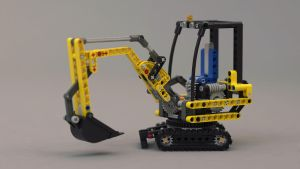 LEGO-TECHNIC-Bagger by Loqy