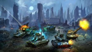 Absolute Decimation 15mm tabletop wargame by multihawk
