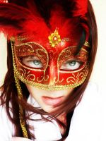 Scarlett Mask by theNICKELgirl