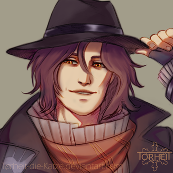 FF XV - Ardyn Izunia, at your service by Torheit-Skadi