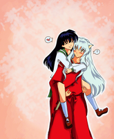 Inuyasha and Kagome: Sweet Love by Rocioo