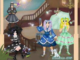 Digiworld Lolitas by DannimonDesigns