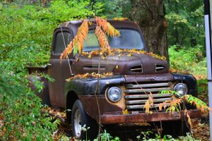 Abandoned truck by Gr8-Gatensby