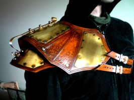 Sky Captains Shoulder Pauldron by Skinz-N-Hydez