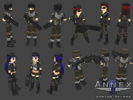 Various Annex Infantry by DelphaDesign
