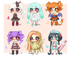 Various Adopts Auction closed by koyame