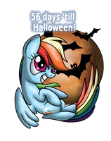 56 days till Halloween! by RainbowStriked