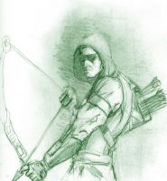 Green Arrow by Graymalkin2112