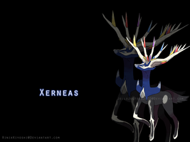 Xerneas Wallpaper by Squidacious
