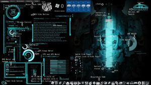 illustration of dead space rainmeter theme by louiezzz