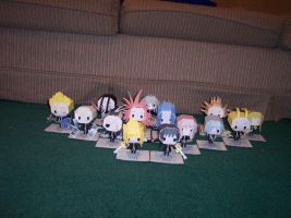 Organization XIII Papercraft by greenj12356