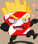 Fries of Insanity Icon by KevinAF123