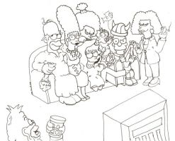 Inked Endless Simpson by StickWilde