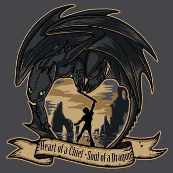 Heart of a Chief, Soul of a Dragon by sugarpoultry