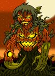 The Evil Pumpkin Man by Enshohma